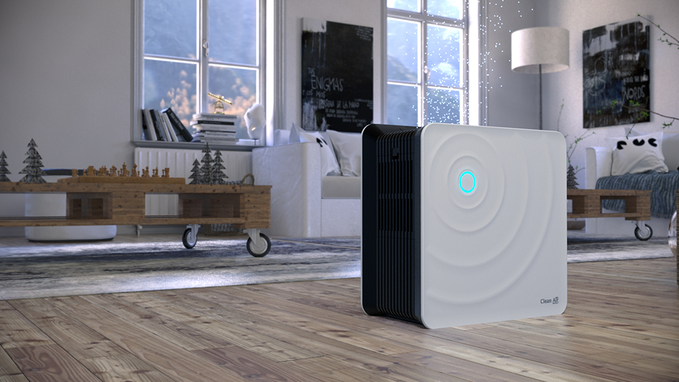 The new air washer CA-803 by Clean Air Optima works with the highly effective humidification principle of cold evaporation!
